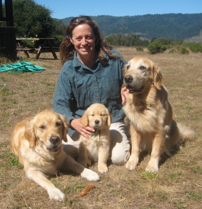 Breeder Sarah with Dam Bella, Girlie, & Granddam Tallulah